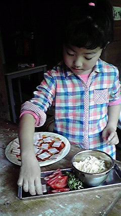 美味しいピザ作り♪