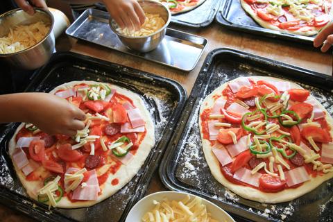 手作りピザ体験2